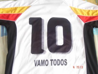 HISTÓRICO: VAMO TODOS 10- Chacales 0